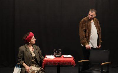 Répétition de PARTIE REMISE, dernière création de la Compagnie QUANTA, écrite et mise en scène par Michela MERAZZI